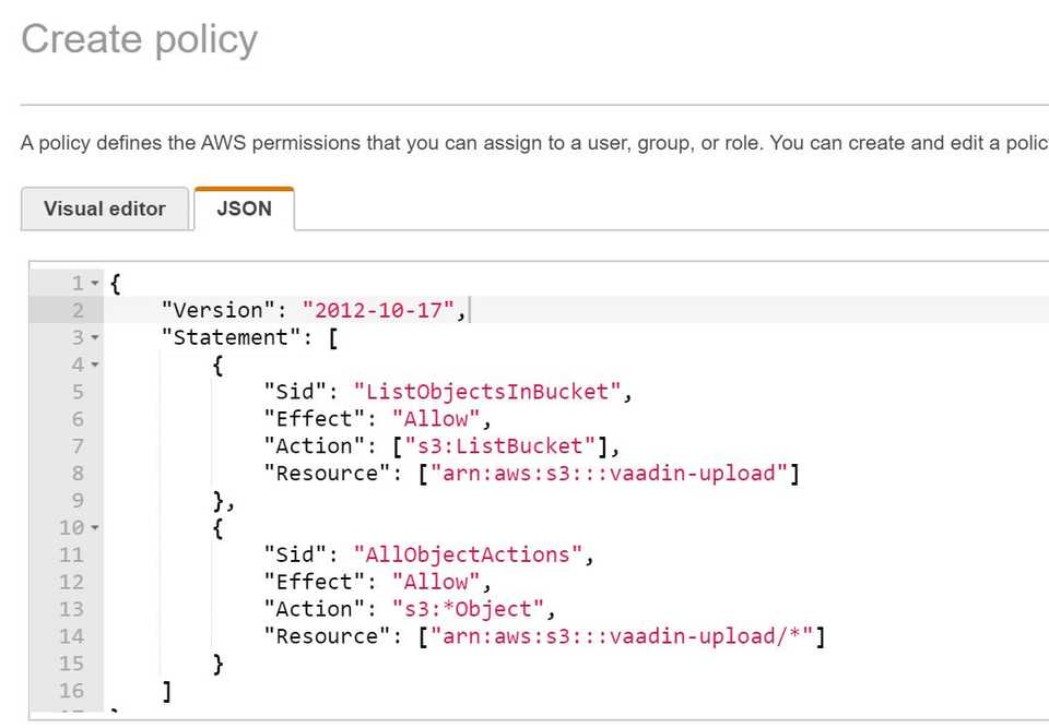 json-policy